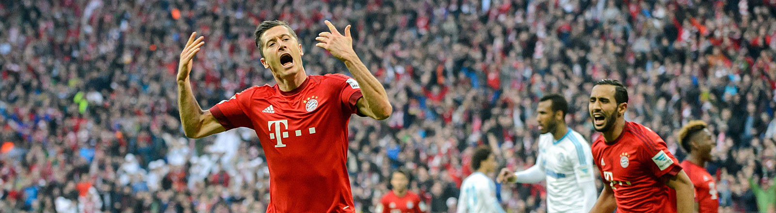 Lewandowski jubelt für Bayern München
