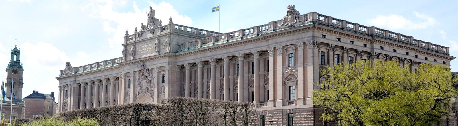 Parlamentsgebäude in Stockholm