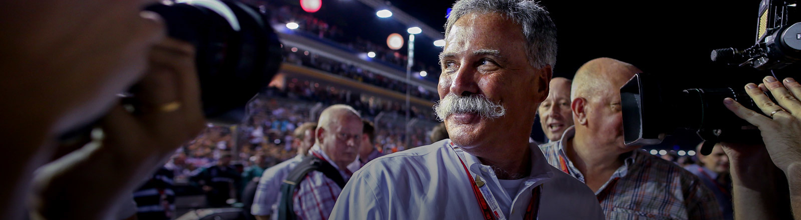 Formel-1-Chef Chase Carey