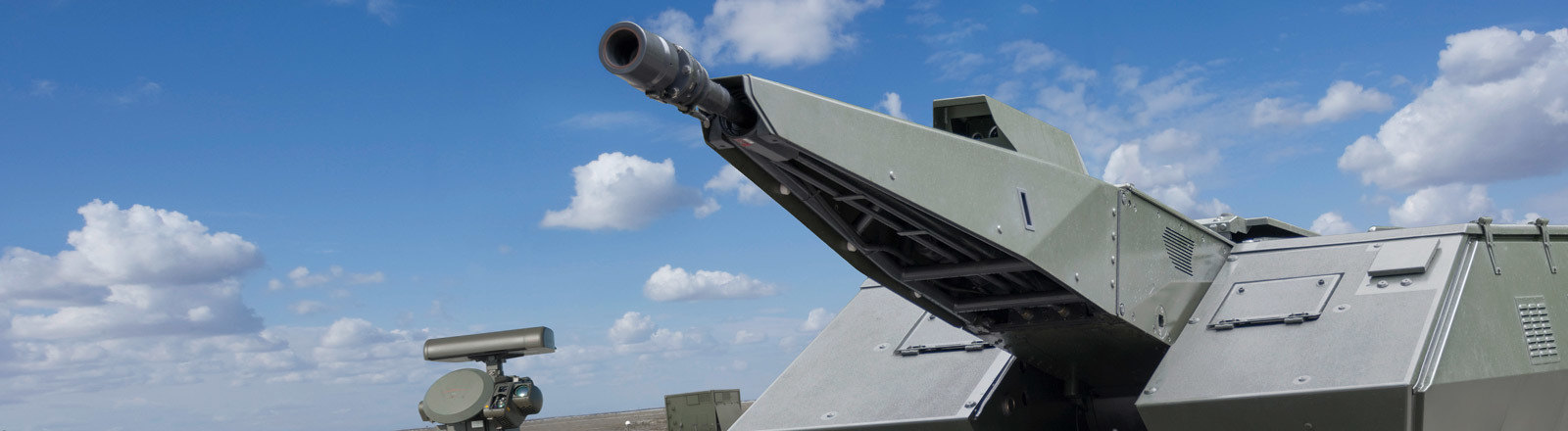 Teilautonomes Geschütz, entwickelt von Rheinmetall