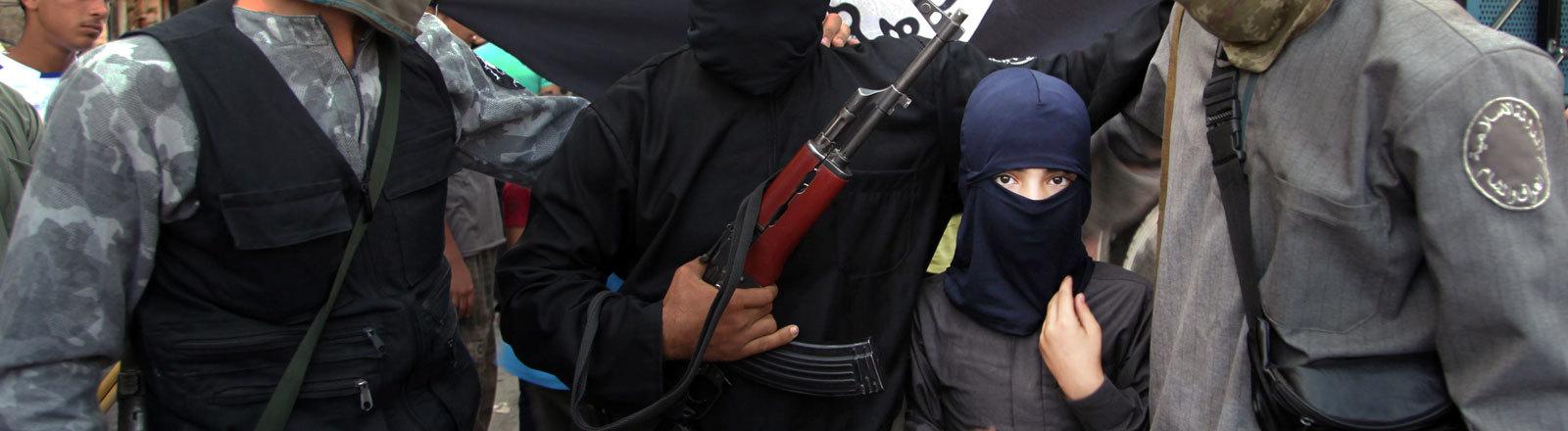 Mitglieder der Terrorgruppierung Islamischer Staat