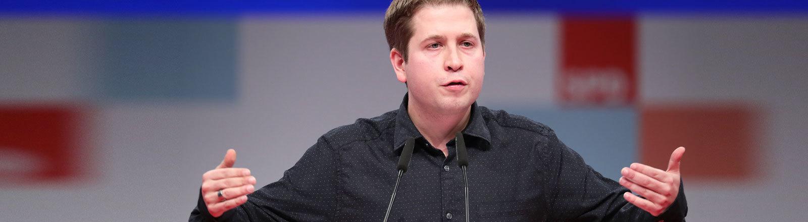 Juso-Vorsitzender Kevin Kühnert
