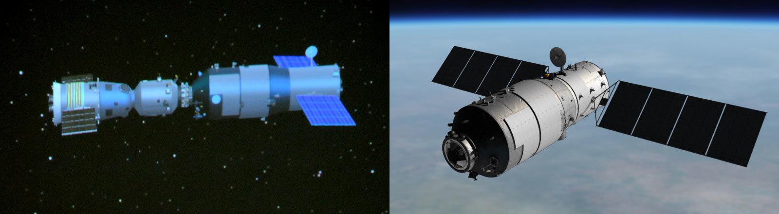 Raumstation Tiangong 1