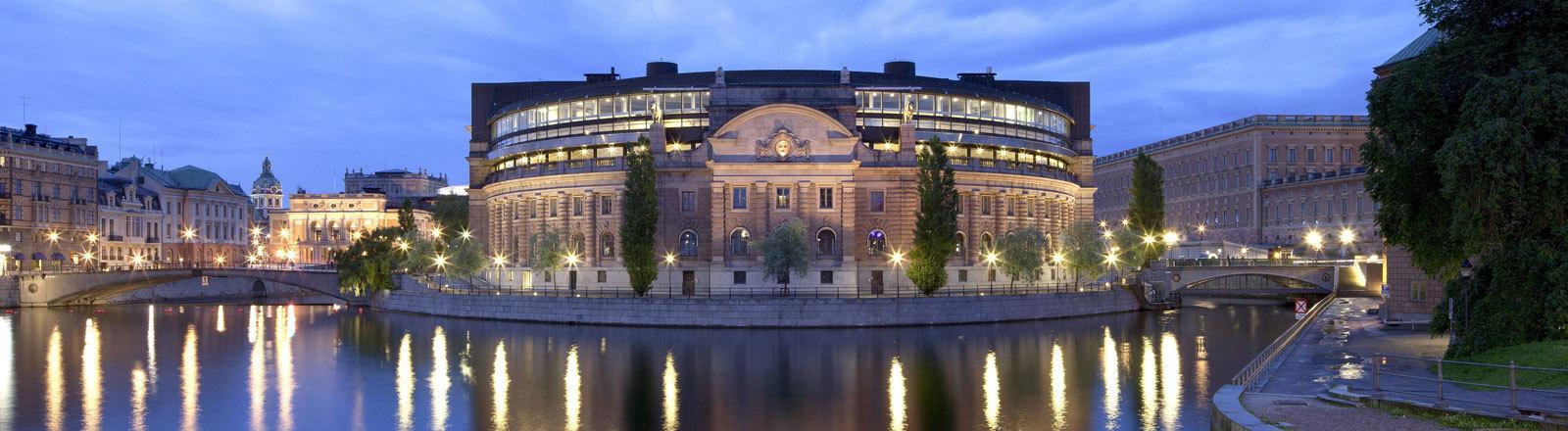 Der Reichstag in Stockholm