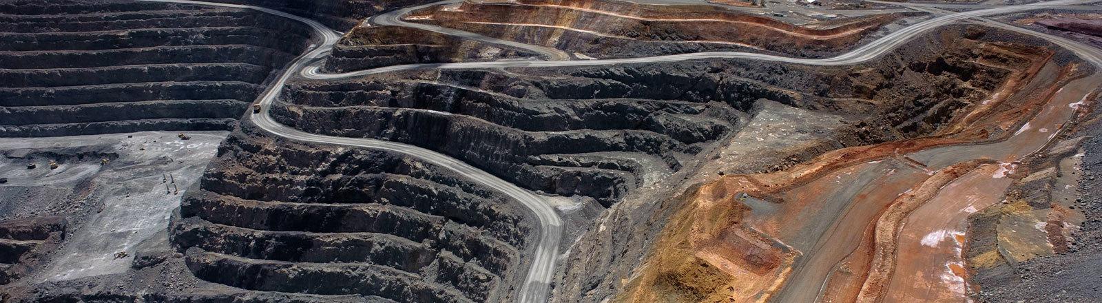 Eine Mine in Australien