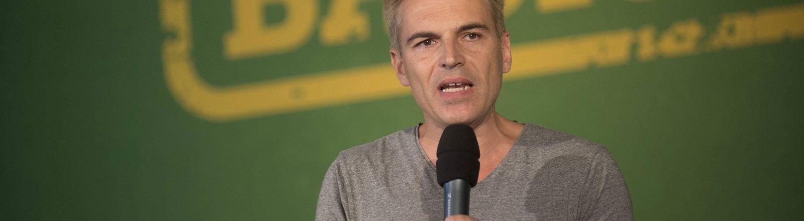 Gerhard Schick, finanzpolitischer Sprecher der Grünen im Bundestag