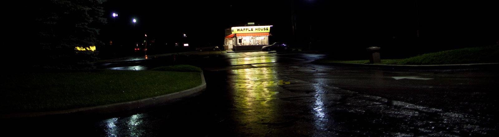 Eine Waffle-House-Filiale