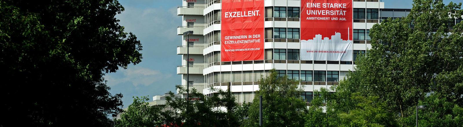 Gebäude  der Universität Bremen