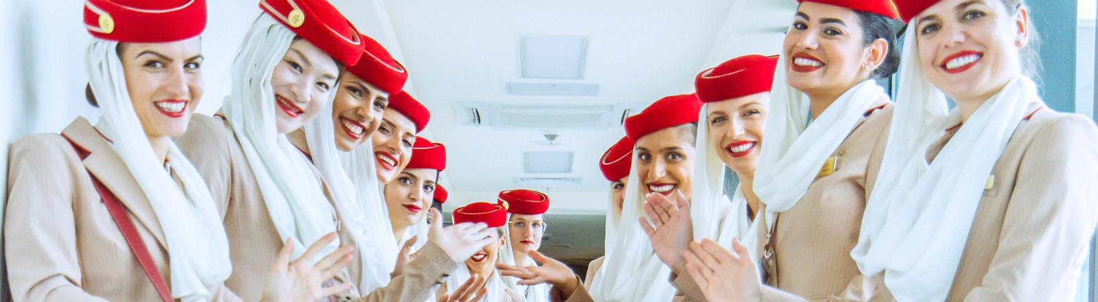 Flugbegleiterinnen