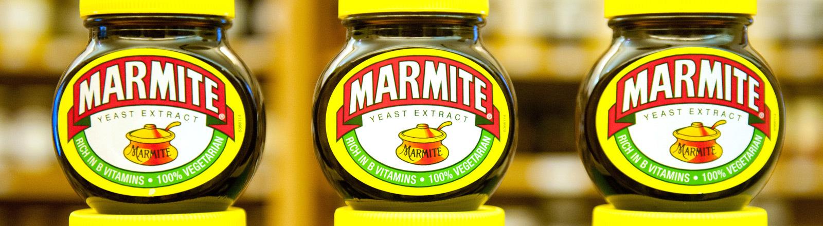 Marmite-Gläser