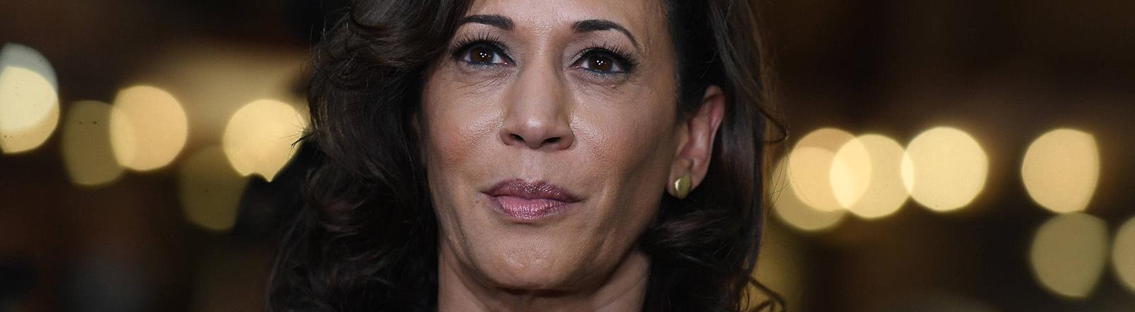 Portraitaufnahme von Kamala Harris, die Vizekandidatin der US-Demokraten (11.08.2020)