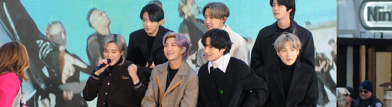 Die K-Pop-Band BTS