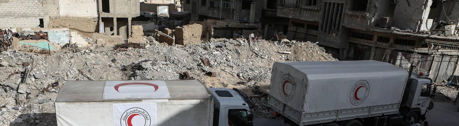 Hilfskonvoi in Syrien