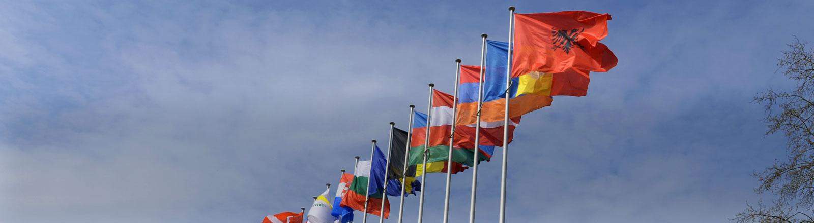 Der Europarat in Straßburg