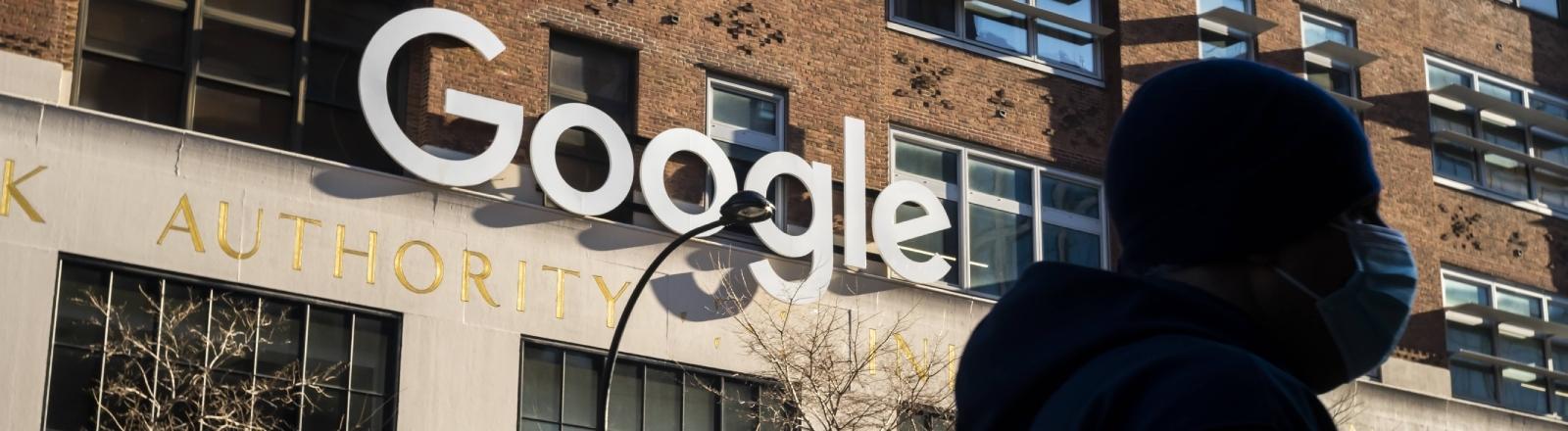 Die Google-Zentrale in New York