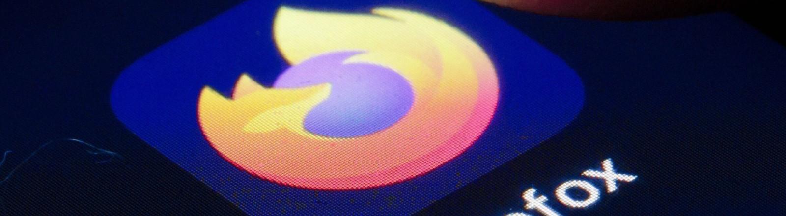 """Logo des Browsers """"Firefox"""" von Mozilla"""