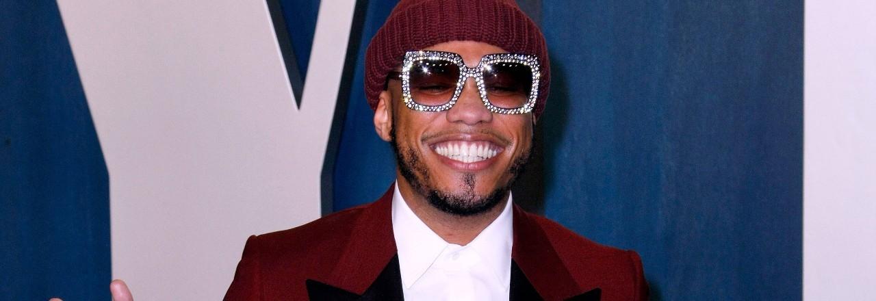 Der kalifornische Rapper Anderson Paak auf einer Party 2020