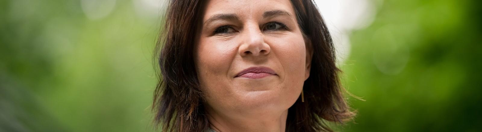Kanzlerkandidatin Annalena Baerbock von den Grünen.