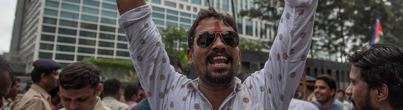 Proteste gegen Karan Johar