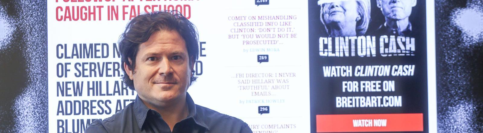 Larry Solov, CEO von Breitbart News