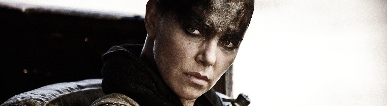 "Charlize Theron in einer Szene in ""Mad Max - Fury Road"""
