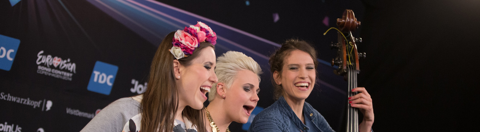 Yvonne Gruenwald, Ela Steinmetz und Natalie Ploeger (L-R) von Elaiza
