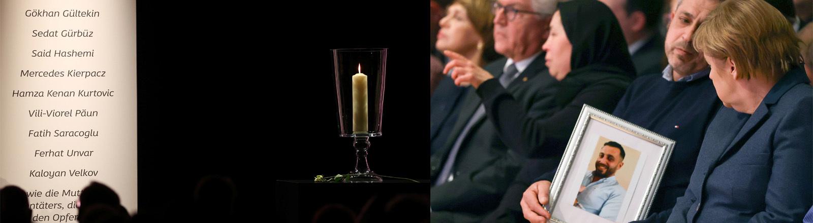 Trauerfeier in Hanau