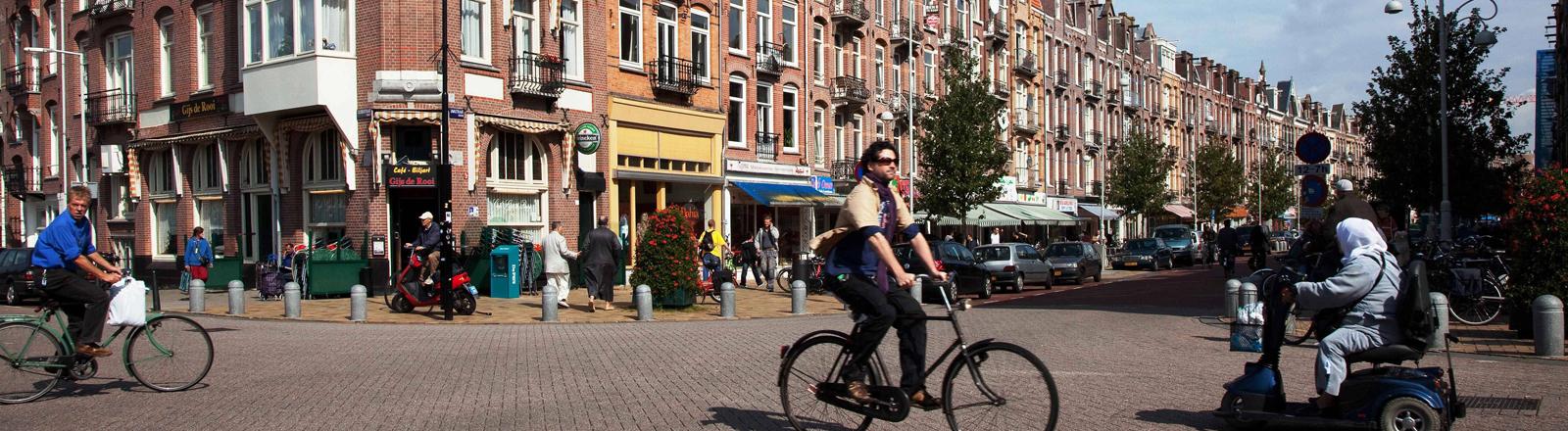 Die Javastraat in Amsterdam