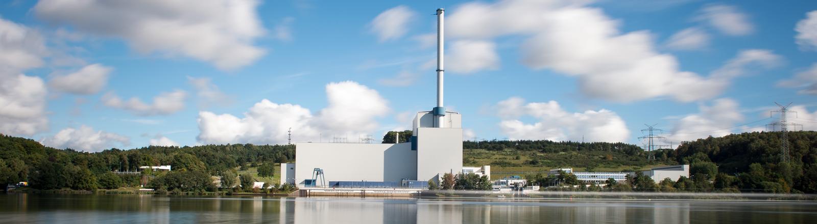 Das Kernkraftwerk Krümmel, aufgenommen am 28.09.2015 in Geesthacht (Schleswig-Holstein).