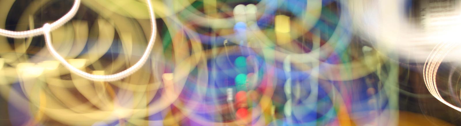 psychedelische Kreise
