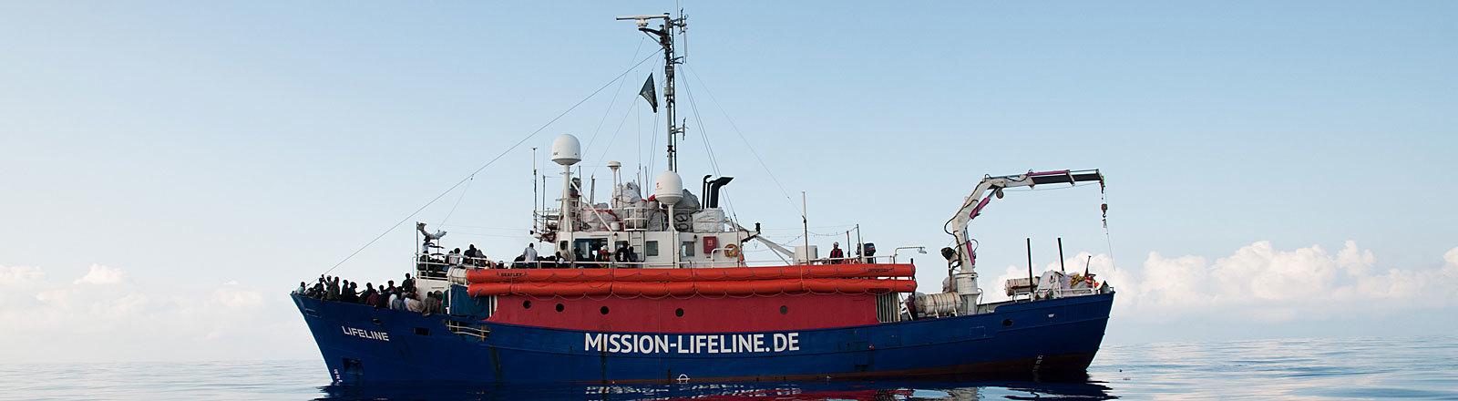 "Rettungsschiff ""Lifeline"" der MISSION LIFELINE e.V."