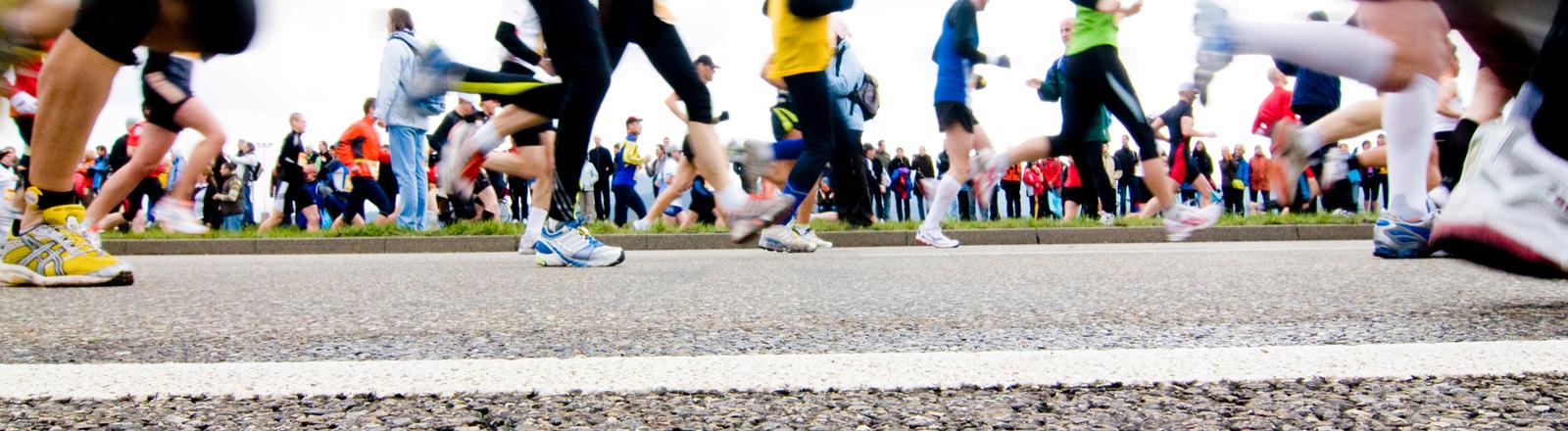 Teilnehmer des Freiburgmarathons