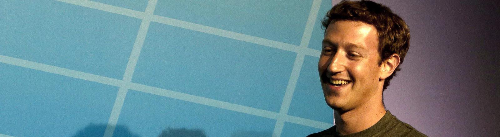 Mark Zuckerberg auf dem Mobile World Congress in Barcelona