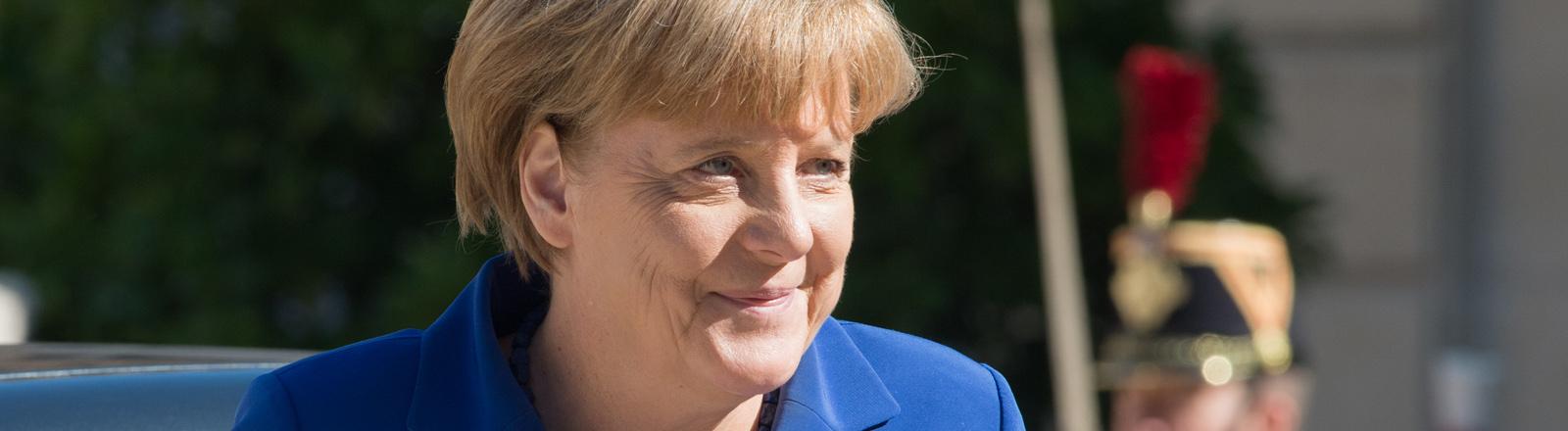 Angela Merkel in Paris