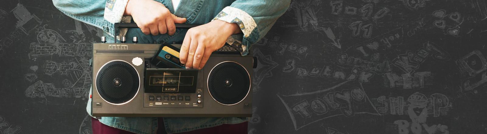 Ein altes Radio