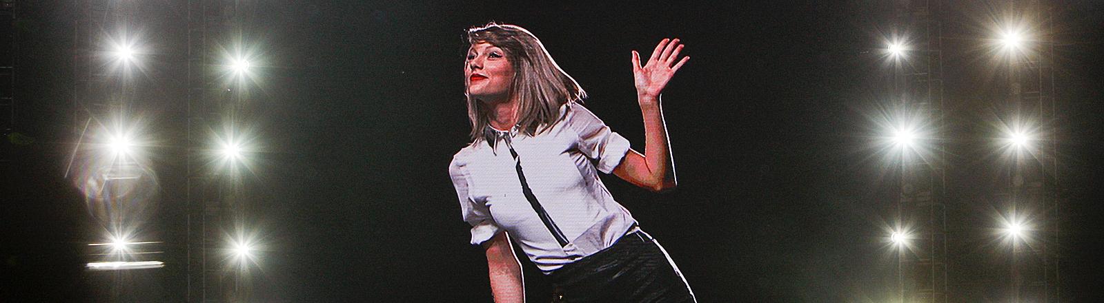 Taylor Swift bei einem Auftritt in Shanghai