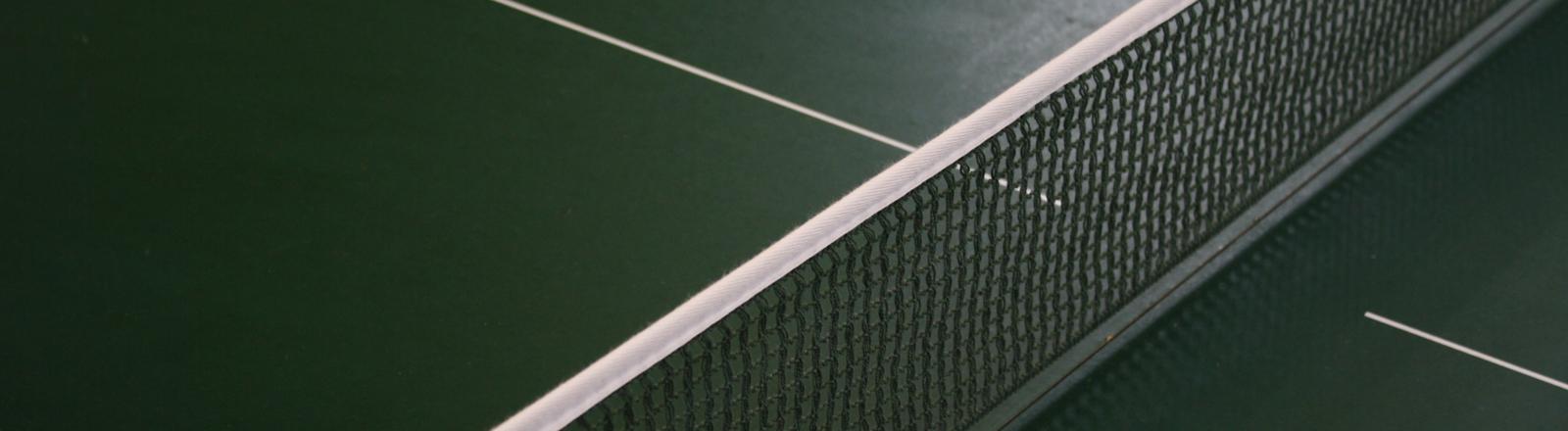 Eine Tischtennisplatte