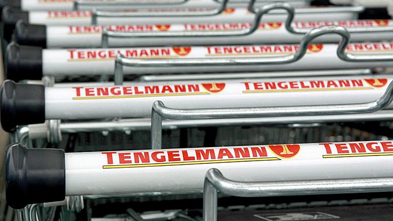 Tengelmann-Einkaufswagen