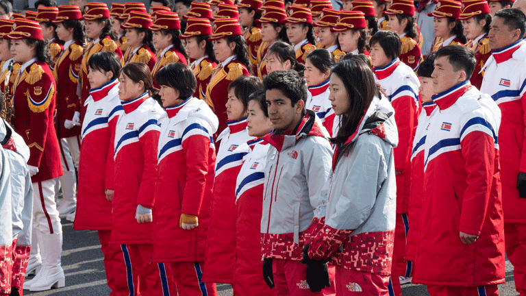 Nordkorea bei Olympia
