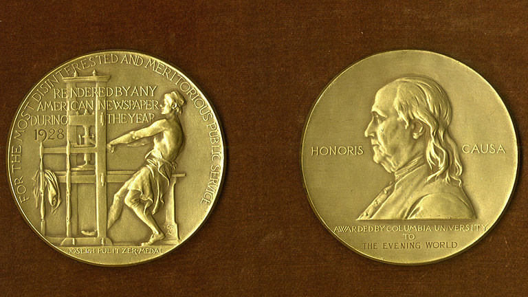 Pulitzer-Preis-Medaille