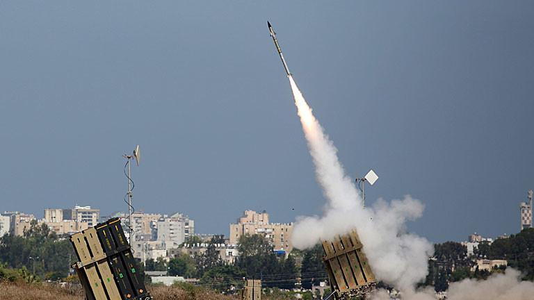 Israelische Abwehrrakete