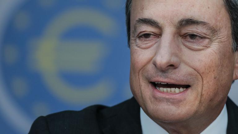 Mario Draghi, Präsident der Europäischen Zentralbank (EZB), spricht am 04.09.2014 während der EZB-Pressekonferenz in Frankfurt am Main.