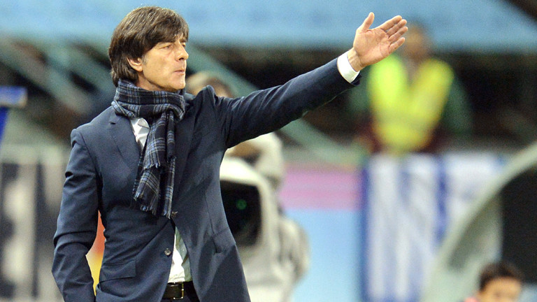 Joachim Löw, Trainer der deutschen Nationalmannschaft, am 18.11.2014 im Spiel gegen Spanien.