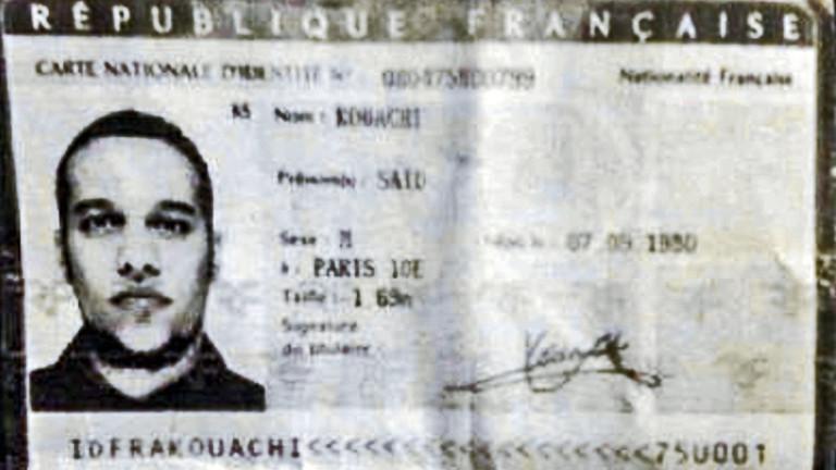 Said Kouachi - einer der verdächtigen Attentäter von Paris.