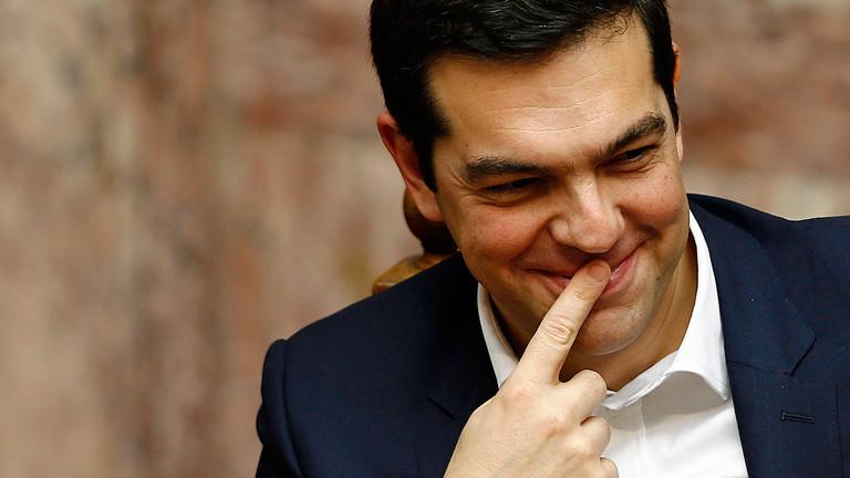 Der Premierminister von Griechenland, Alexis Tsipras, am 05.02.2015.