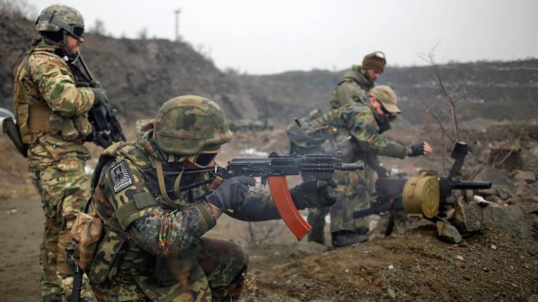 Soldaten in der Ukraine.