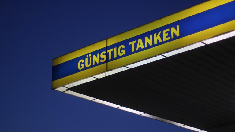 Tankstellen-Anzeige