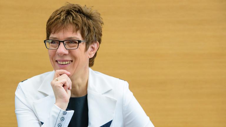 Saarlands Minidsterpräsidentin Annegret Kramp-Karrenbauer, CDU.