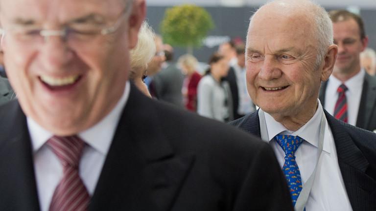 Ferdinand Piëch und Martin Winterkorn