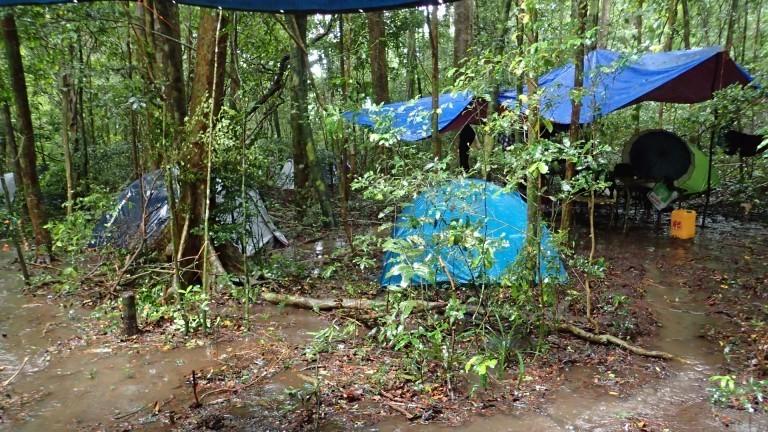 Camp Norden Madagaskars im Montagne d'Ambre Nationalpark